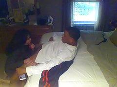 Gilf Milf Girlfriend Roxanne!!! on Jan's bed #2
