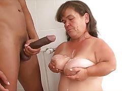 mature midget first bbc interracial lesson