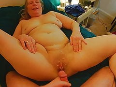 64 yr old mother in-law pussy cum