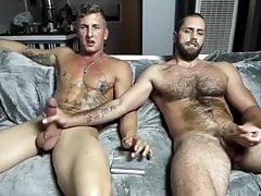 2 friends cum together
