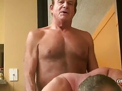 HOT O4M SCENE WITH CLINT